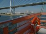 オレンジの浮輪